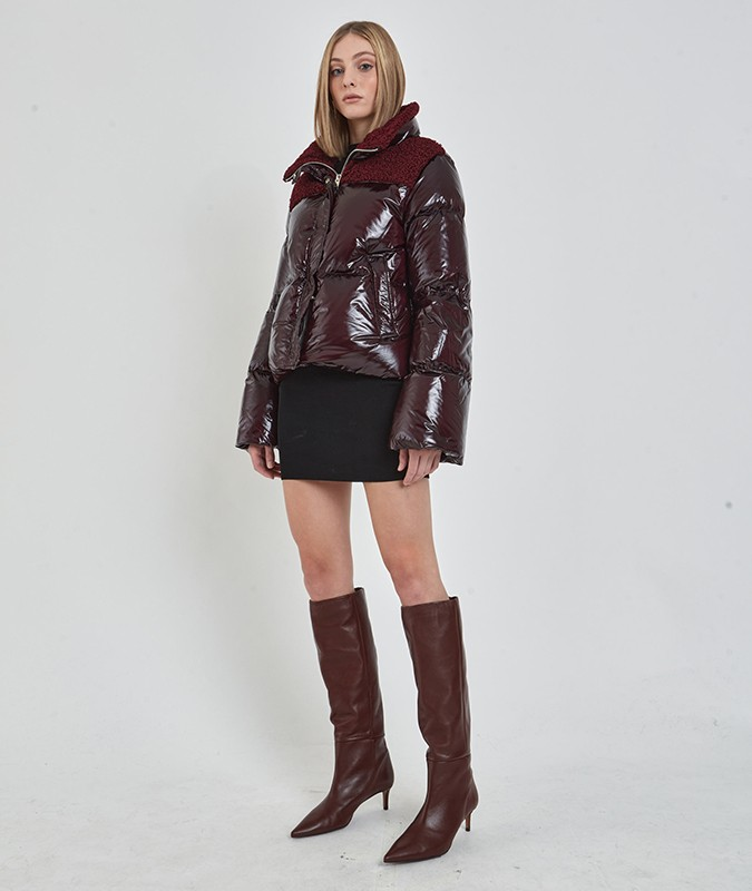 ANTON CROPPED PUFFER